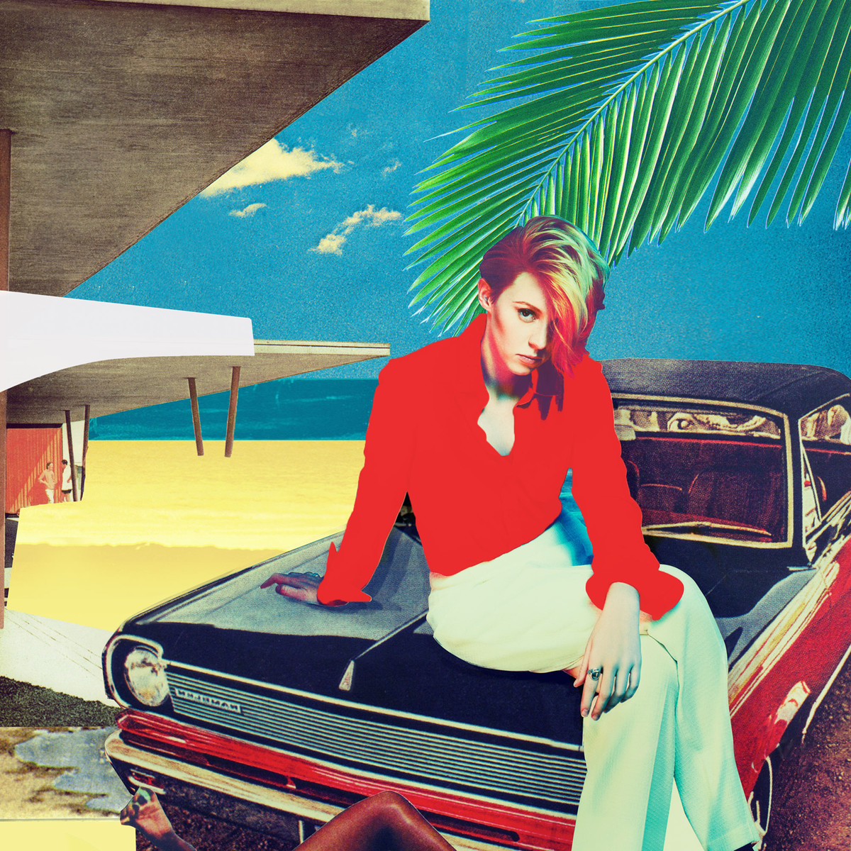 La Roux - Trouble in Paradise Artwork