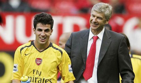 Fabregas and Wenger
