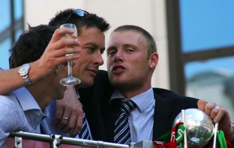 There can be no doubting that Flintoff will be strictly teatotal during his fight preparation