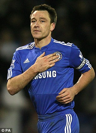 There is no denying John Terry's capabilities as a leader