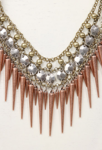 Urban Outfitters spike mixed bib