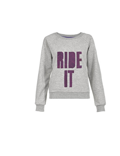 House of Holland 'Ride It' sweater, £63.95 from Harrods