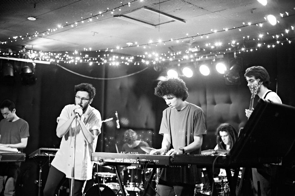 Shy Panther playing a gig in Perth, WA last year. © Duncan Wright 2012