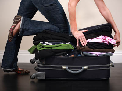 How to pack your suitcase lightly ready for your holidays