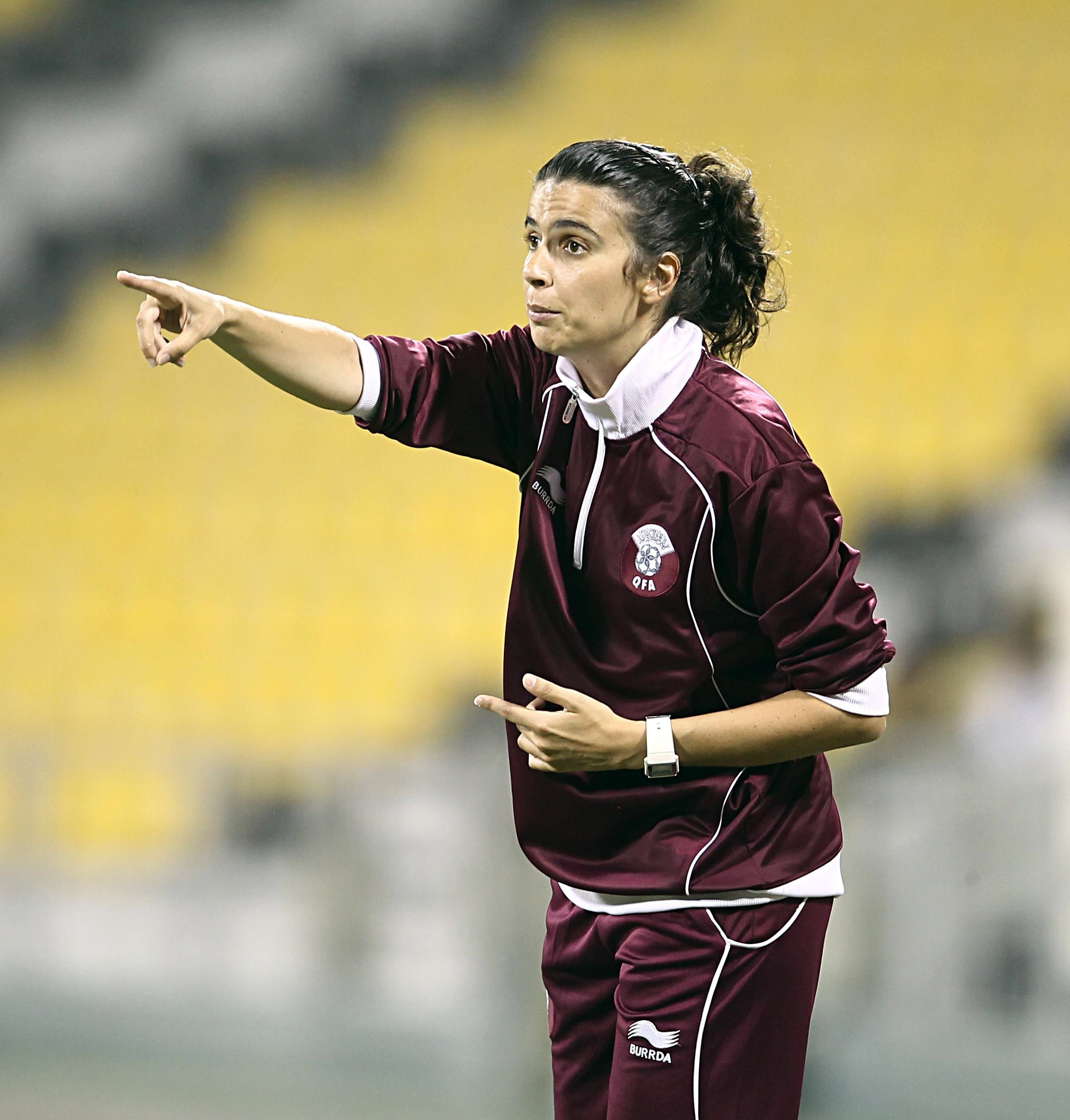 Highest profile female manager of a male professional team