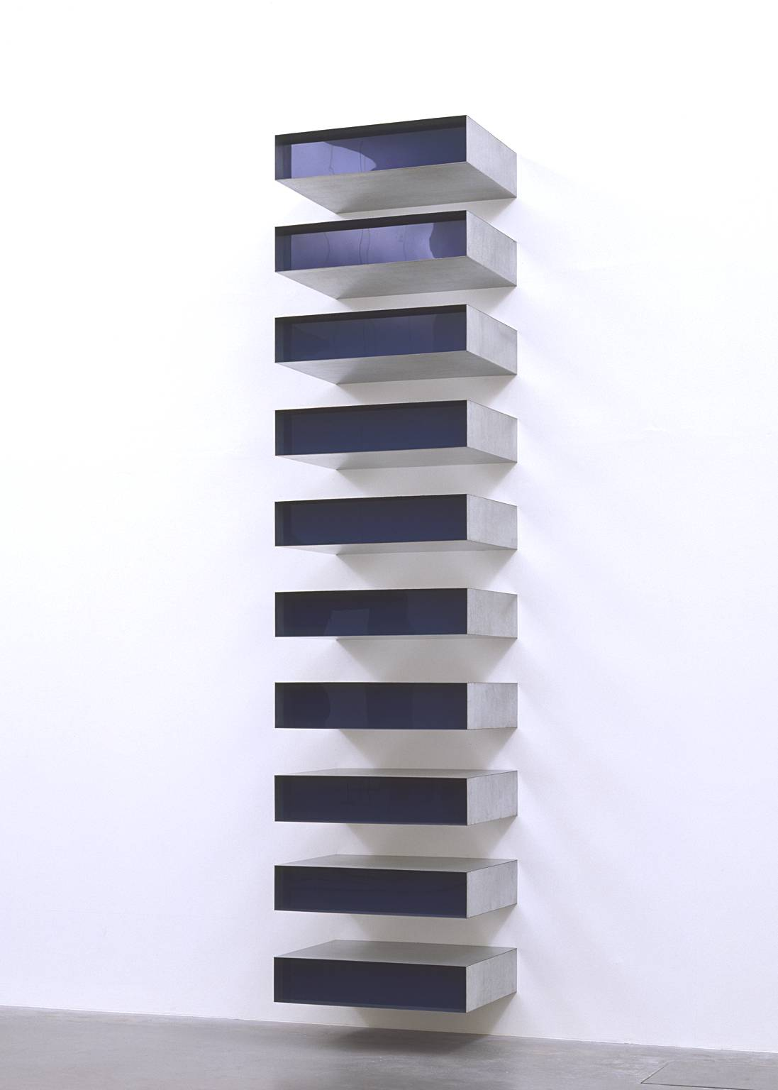 Untitled 1980 by Donald Judd 1928-1994